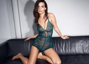 Emily Ratajkowski lingeriecampagne