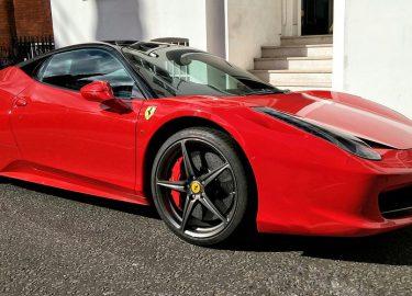Ferrari 458 in de prak