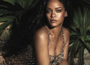 Sexy gifjes Rihanna