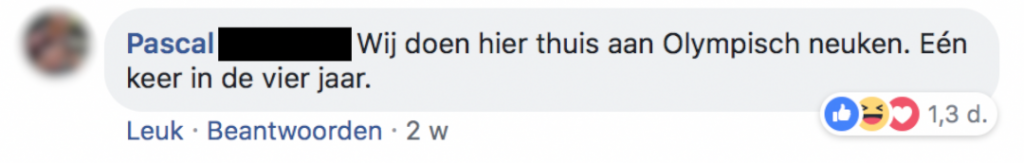 Facebook De Speld comment reactie