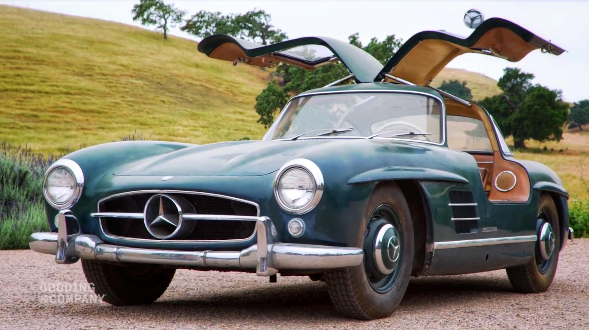 schuurvondst Mercedes 300 SL Gullwing Roadster