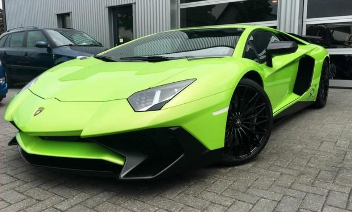 Auto Lamborghini Aventador SV