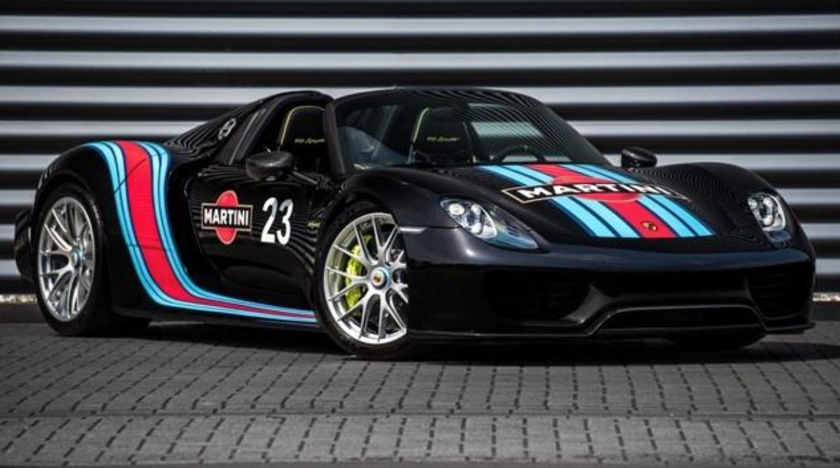 Auto Porsche 918 Spyder