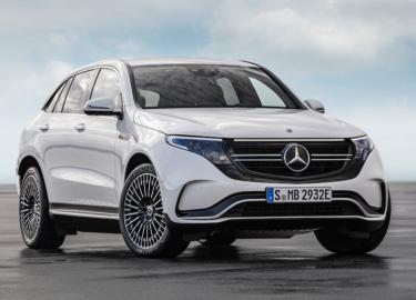 Auto's Mercedes EQC