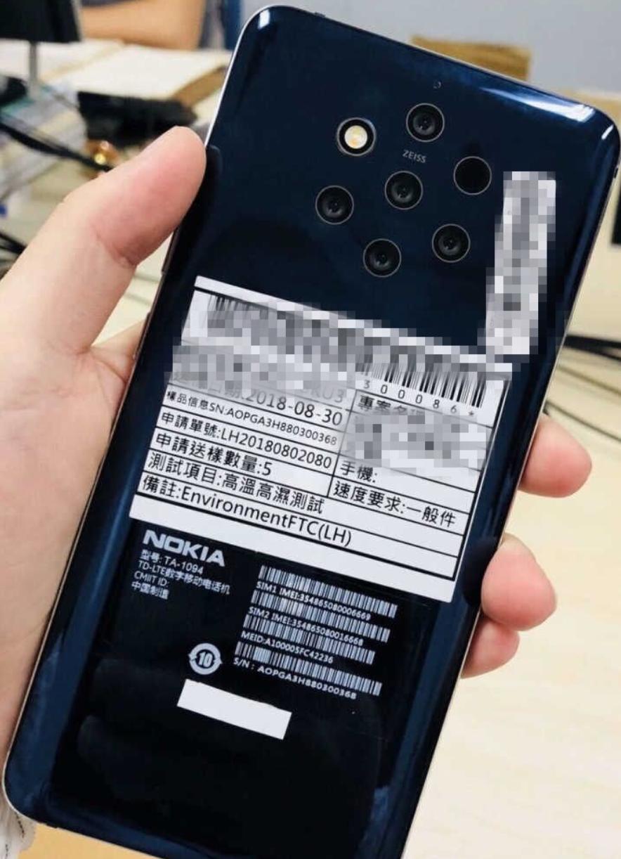 Nokia lenzen camera mobiel telefoon tech