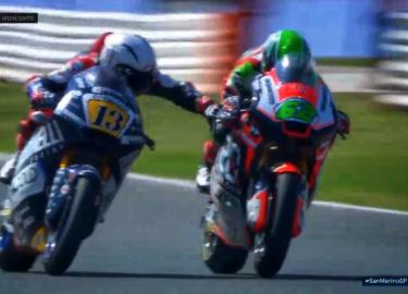 Moto2 Romano Fenati motor racen