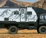 camper offroad terreinwagen