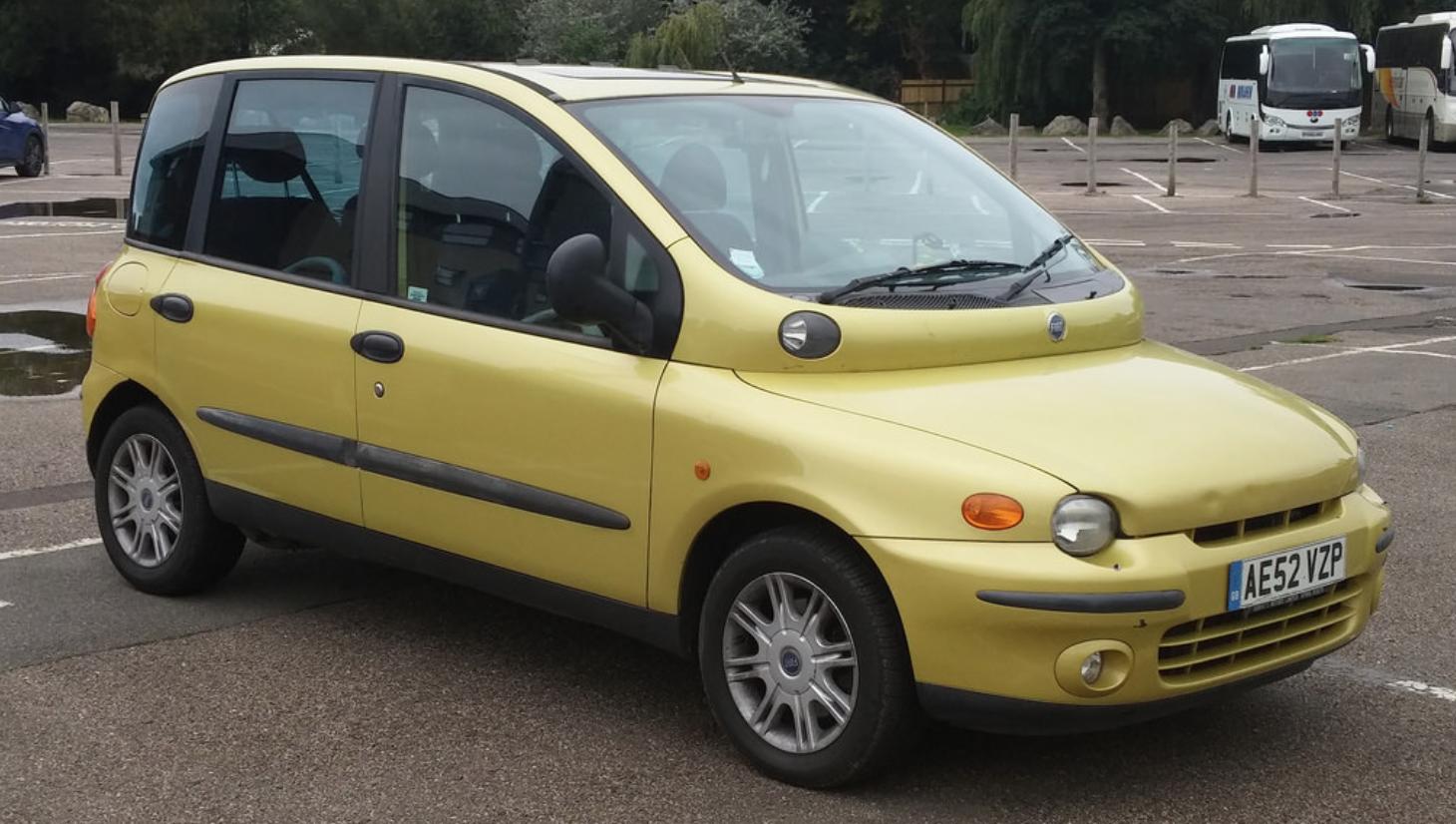 Fiat Multipla Lelijke Auto's auto