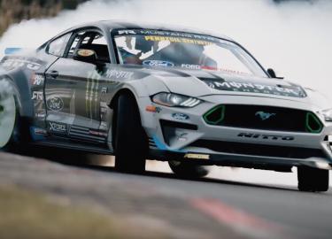 nürburgring Ford Mustang RTR drift driften