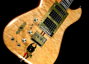 The Wolf guitar