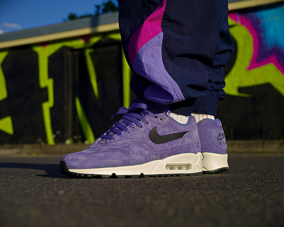 Nike Air Max 90 1 Purple Basalt Anthracite Summit White
