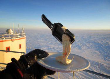 Antarctica koken eten