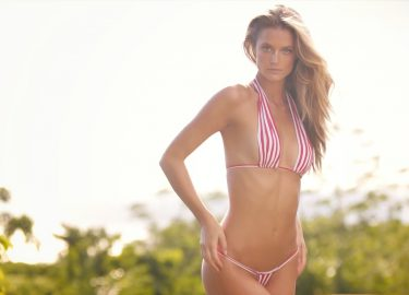 Topmodel Kate Bock bikini