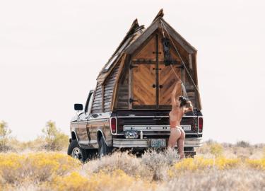 Sara Underwood camper