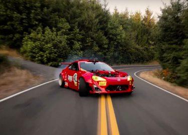 Toyota GT86 Ferrari Drift Driften Ryan Tuerck Auto Auto's