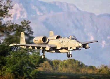 Vliegtuig A-10 Warthog