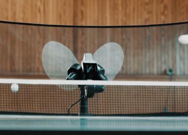 tafeltennisser machine tafeltennis robot pingpong