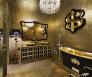 Badkamer goud gouden badkamer