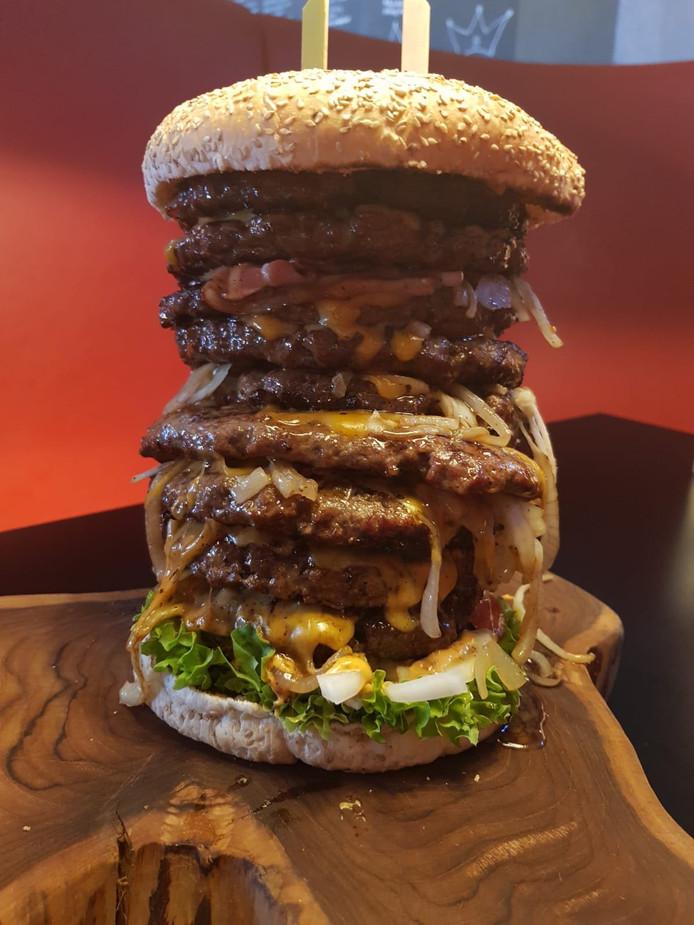 Big Daddy Challenge Burgers van Barneveld
