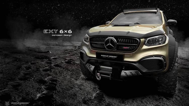 Mercedes X-Klasse Exy 6x6 Carlex Design