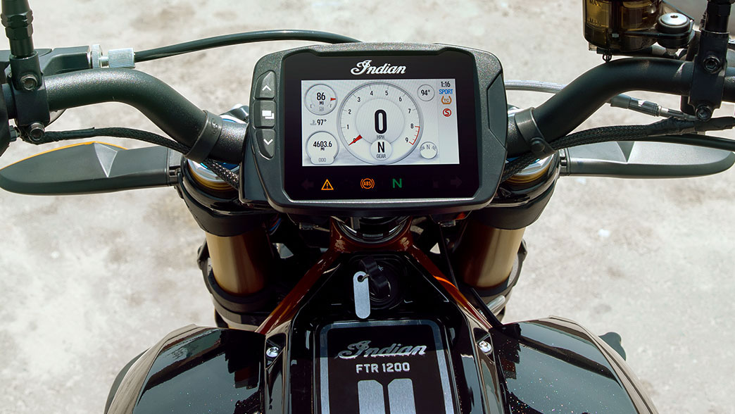 Motor Indian FTR 1200 S