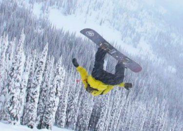 Snowboarden Ben Ferguson is een echte pro.