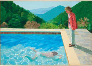 Schilderij David Hockney