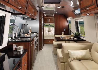 Airstream Classic XL caravan