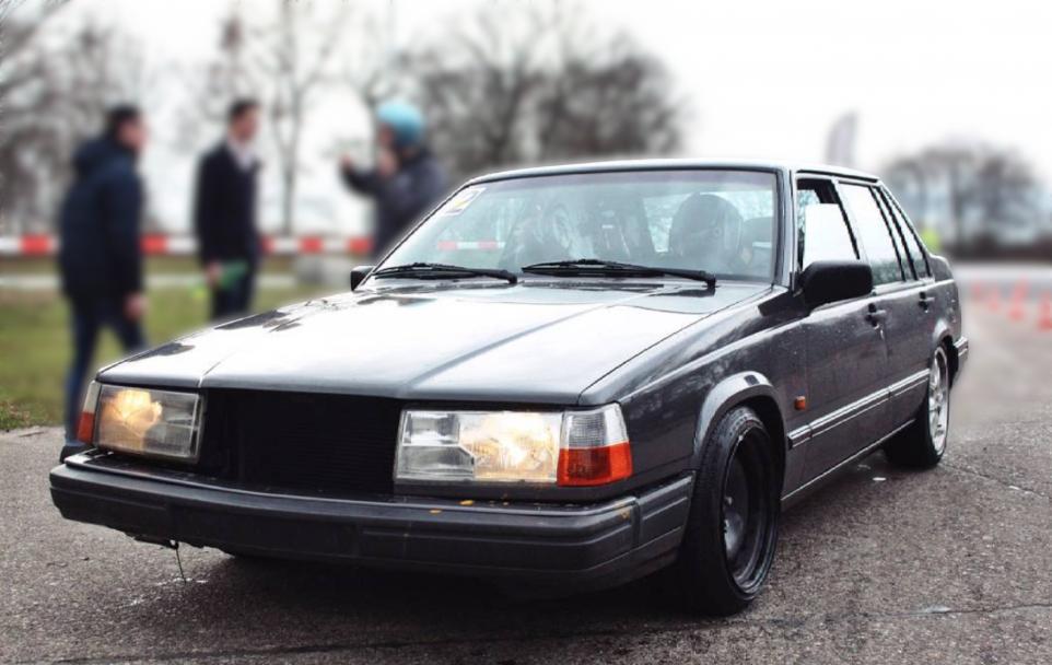 Volvo 940 eerste auto