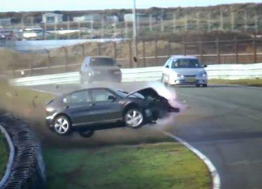 Zandvoort Seat Leon crash