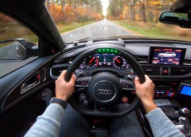 Audi RS6 LED stuur
