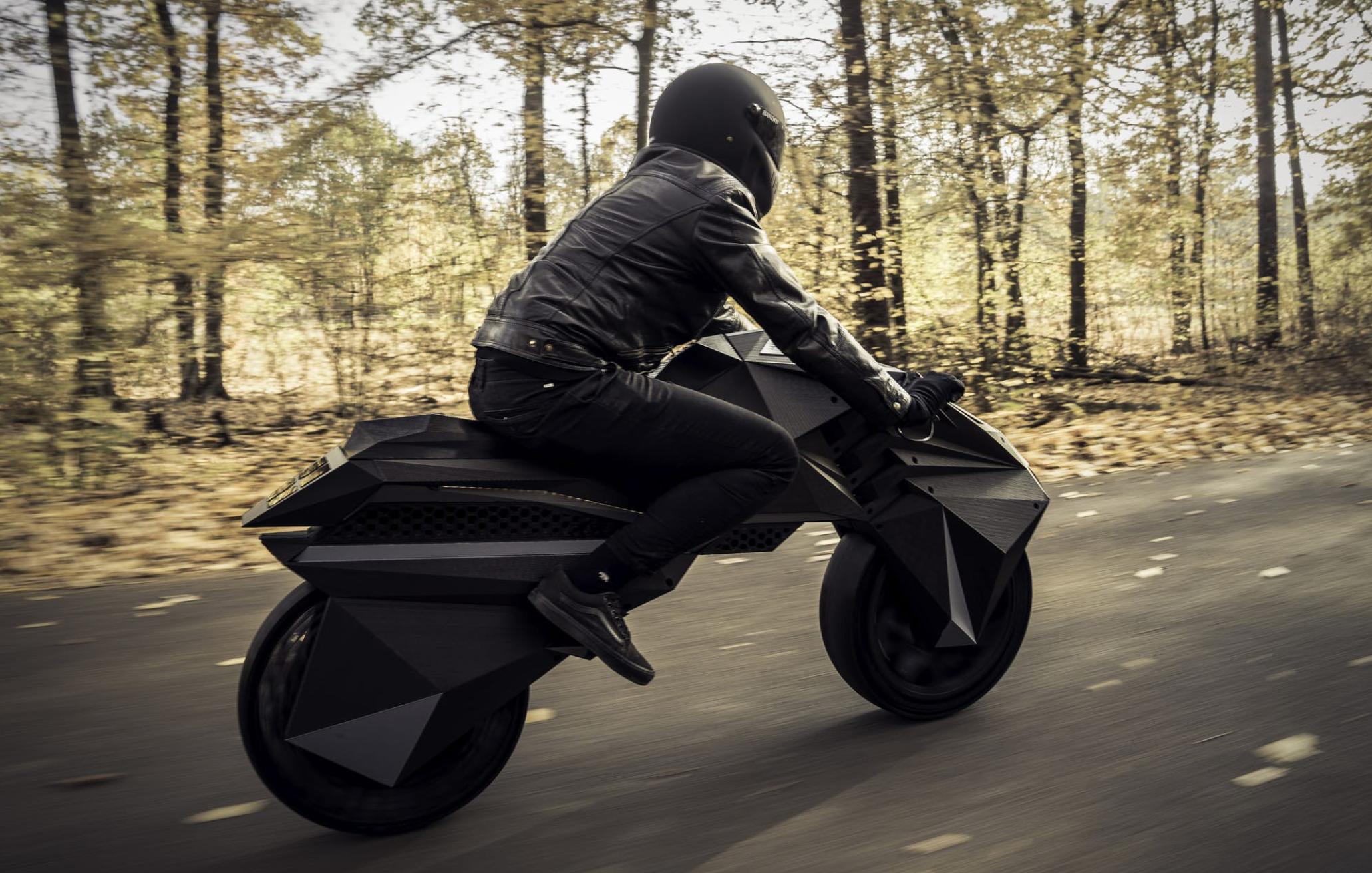 geprinte motorfiets