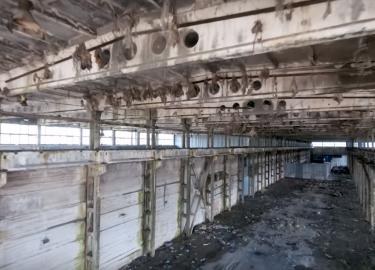 Verlaten gebouw film
