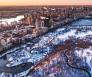 New York Sneeuw