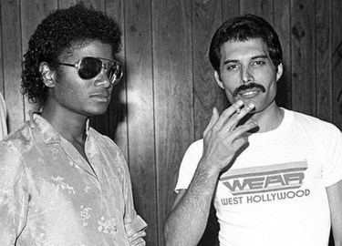 Michael Jackson Freddie Mercury