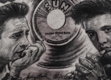 Tattoo Elvis