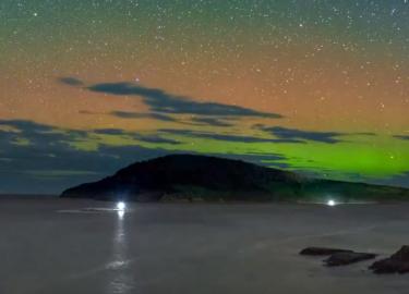 Time lapse zuiderlicht