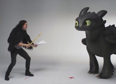 Kit Harington How to train your dragon
