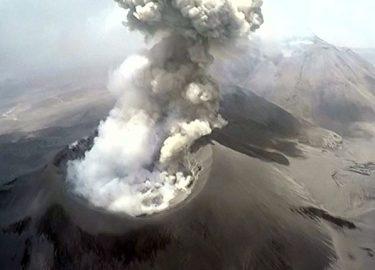 vulkanen peru uitbarsting drone