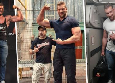 Olivier Richters bodybuilder