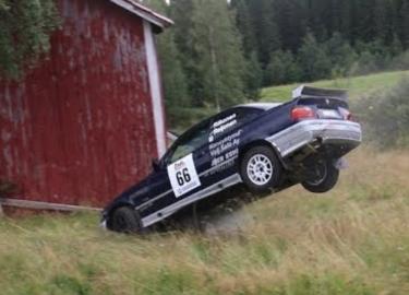 rally crashes Finland