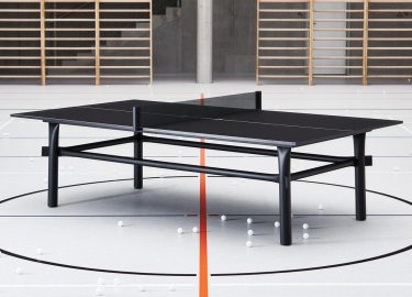 Marshmallow ping pong tafel