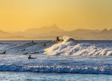Australië hitte strand zee