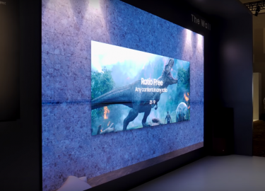 Samsung the wall tv thuisbioscoop