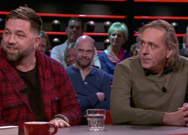 Theo Janssen Marcel van Roosmalen DWDD