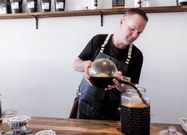 Australische koffiebar