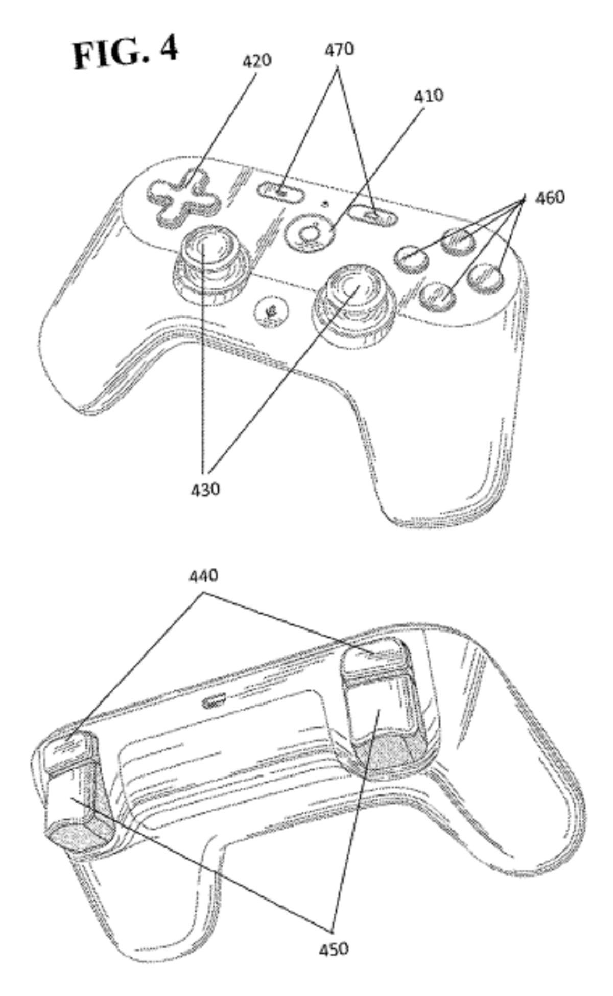 Google patent controller