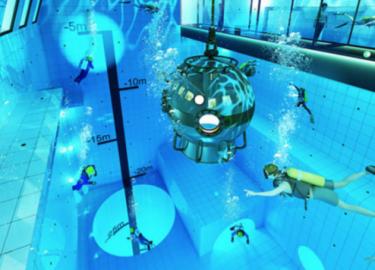 diepste binnenzwembad