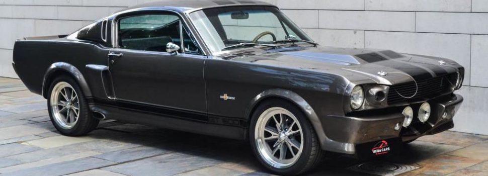 De exemplaar van de iconische Ford Mustang Eleanor V8 Shelby GT500 staat nu te koop in Nederland!