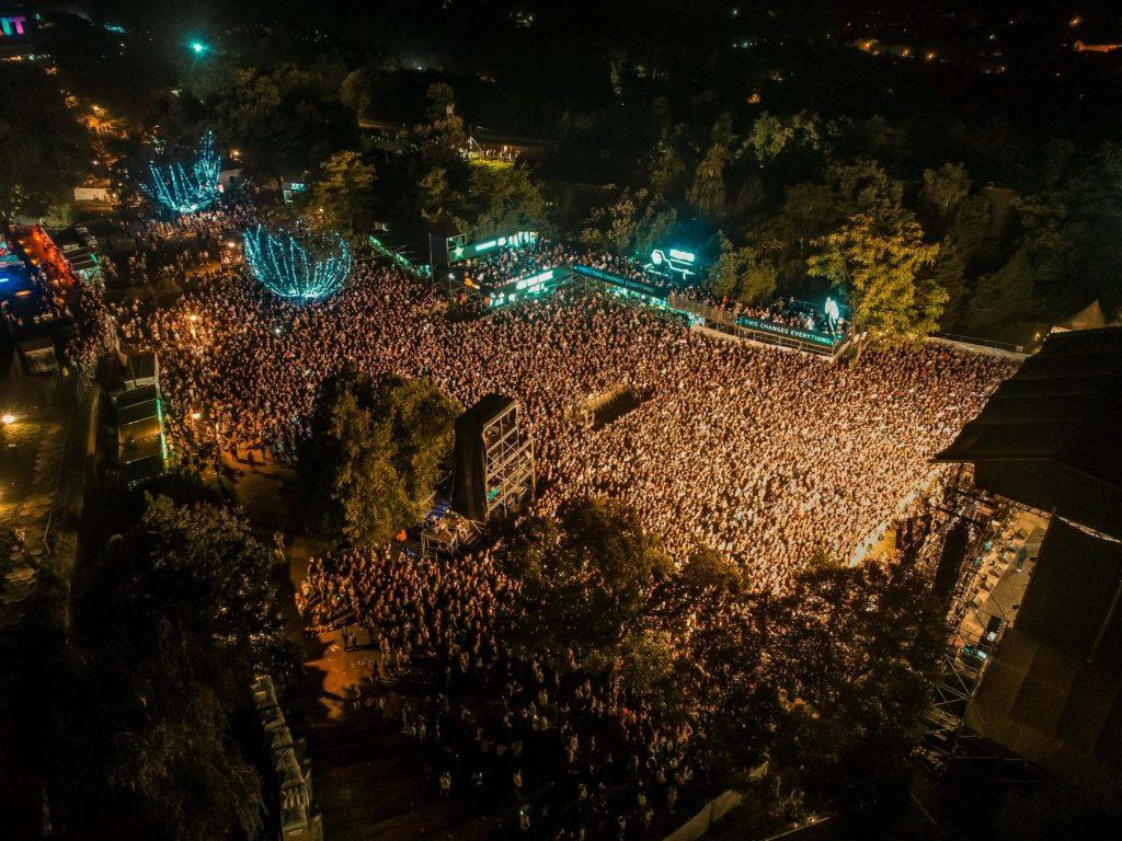 Crowd op Exit Festival
